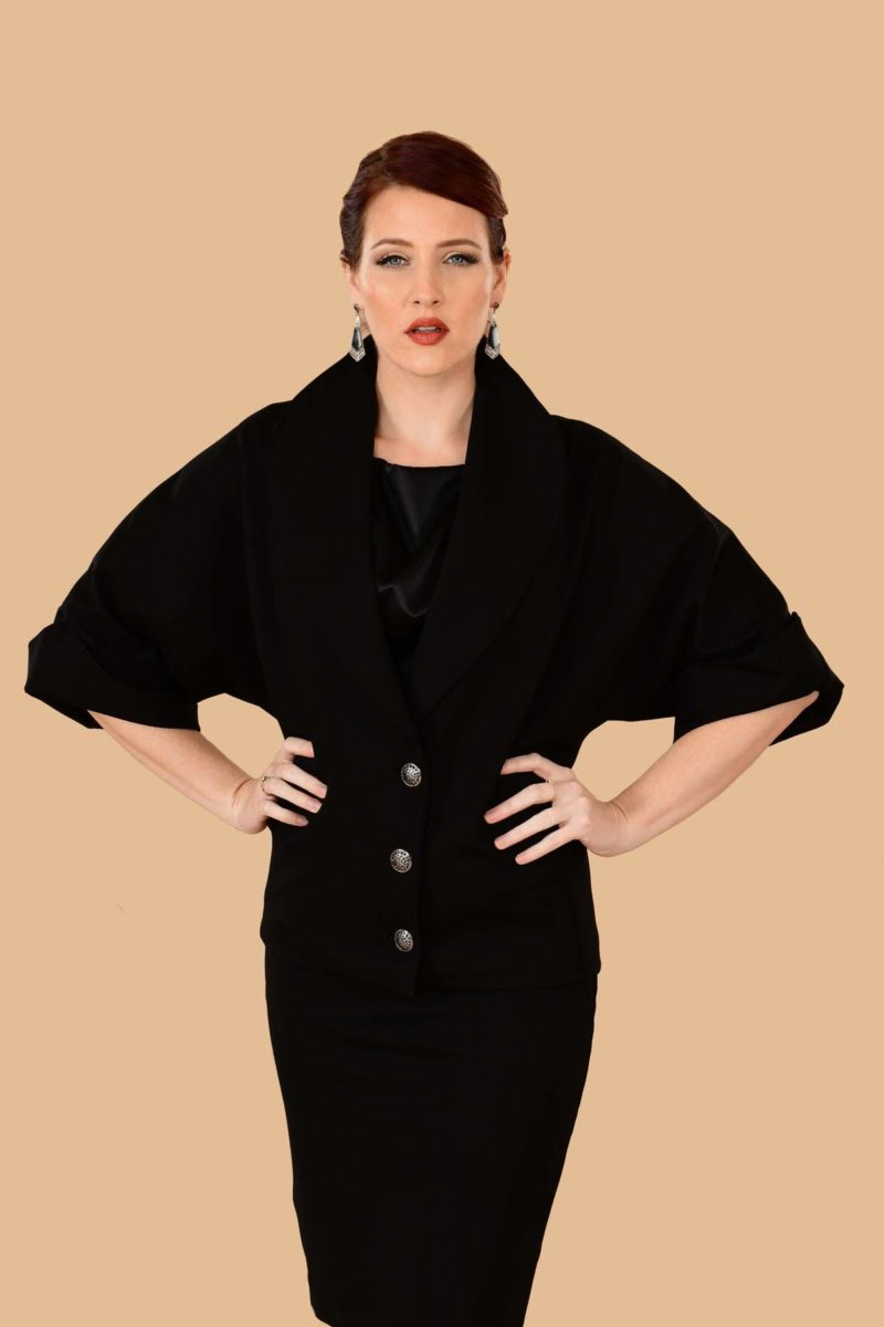 Greta Batwing Suit Jacket