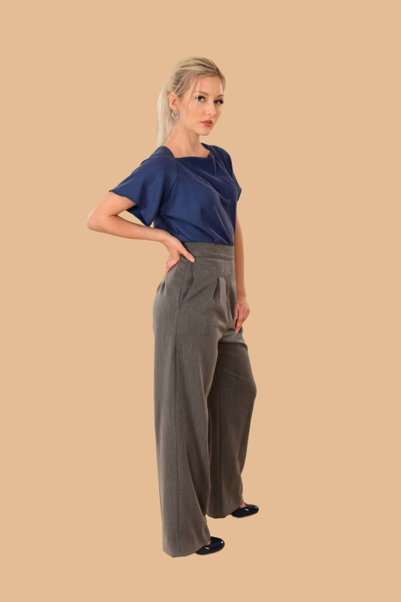 Katherine Pleated Pant Traveler