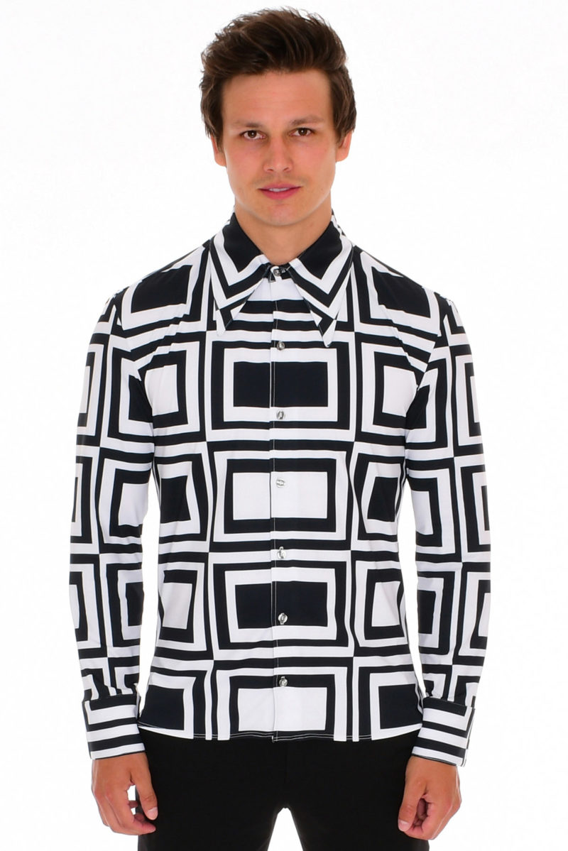 fitted men's shirt